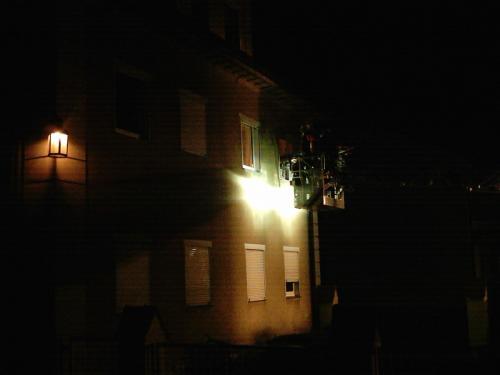 01.01.2005 Rettung Person mit Drehleiter
