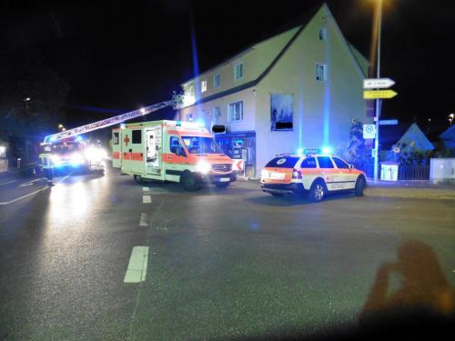30.08.2016 Rettung Person Drehleiter