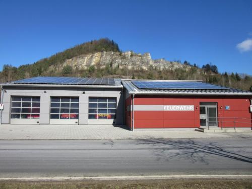 Gerätehaus Außensicht 1